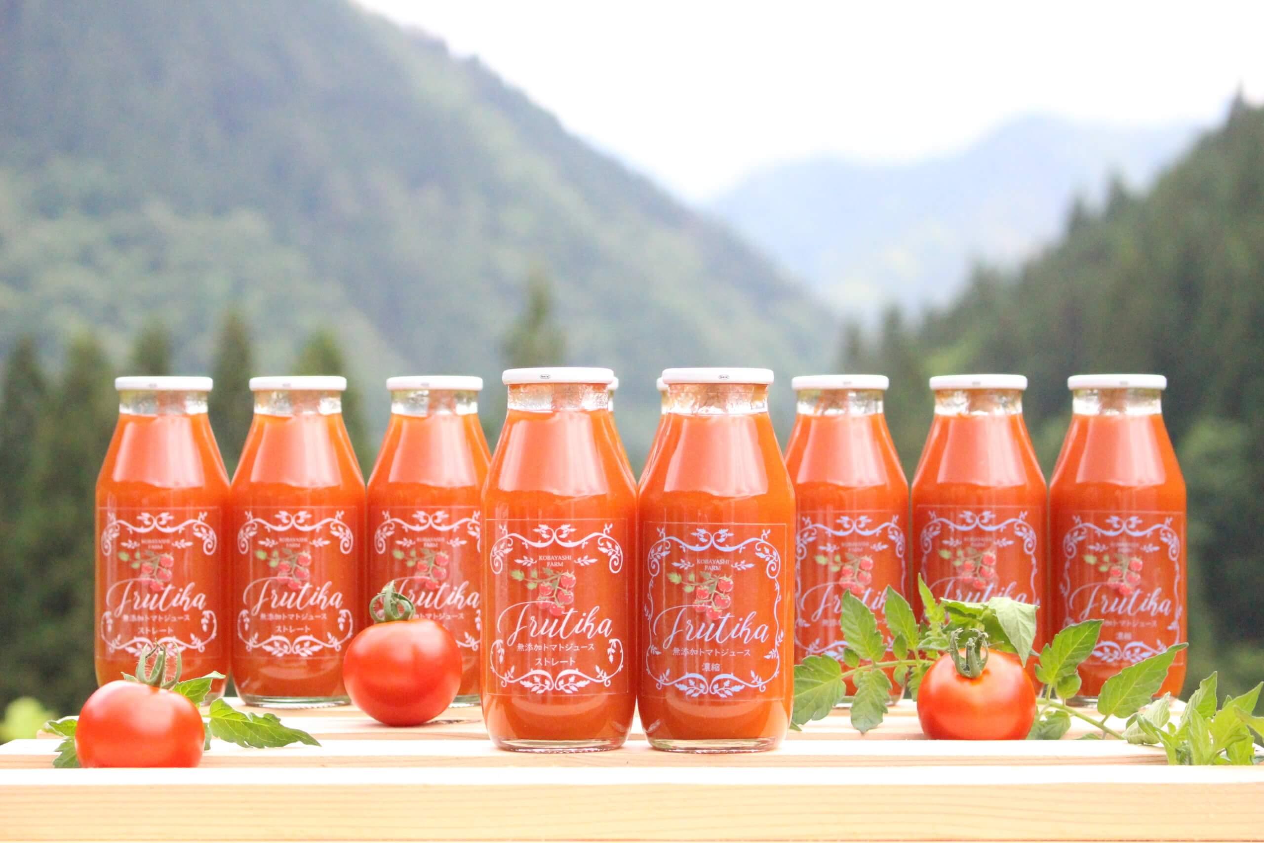 無添加ストレートトマトジュースへのこだわり
