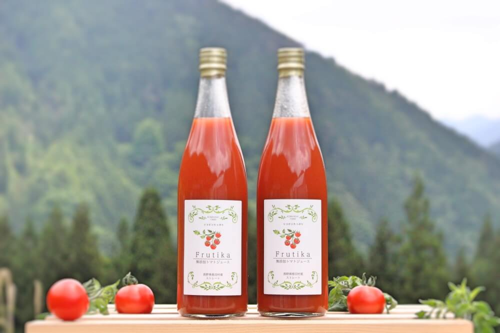 小林農園無添加トマトジュースラージサイズストレート