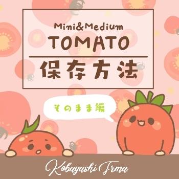 沢山あっても困らない?!トマトの保存方法