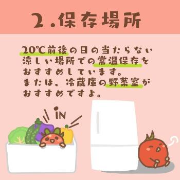 トマトの常温保存方法2