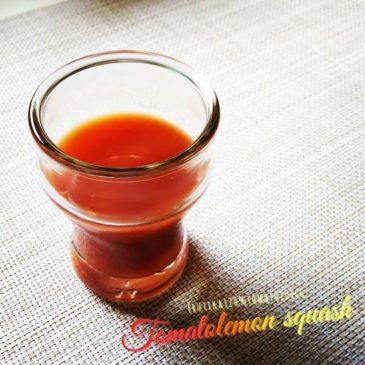 トマトレシピ2 トマトレモンスカッシュ