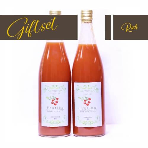 贈り物に喜ばれている小林農園無添加トマトジュース濃縮
